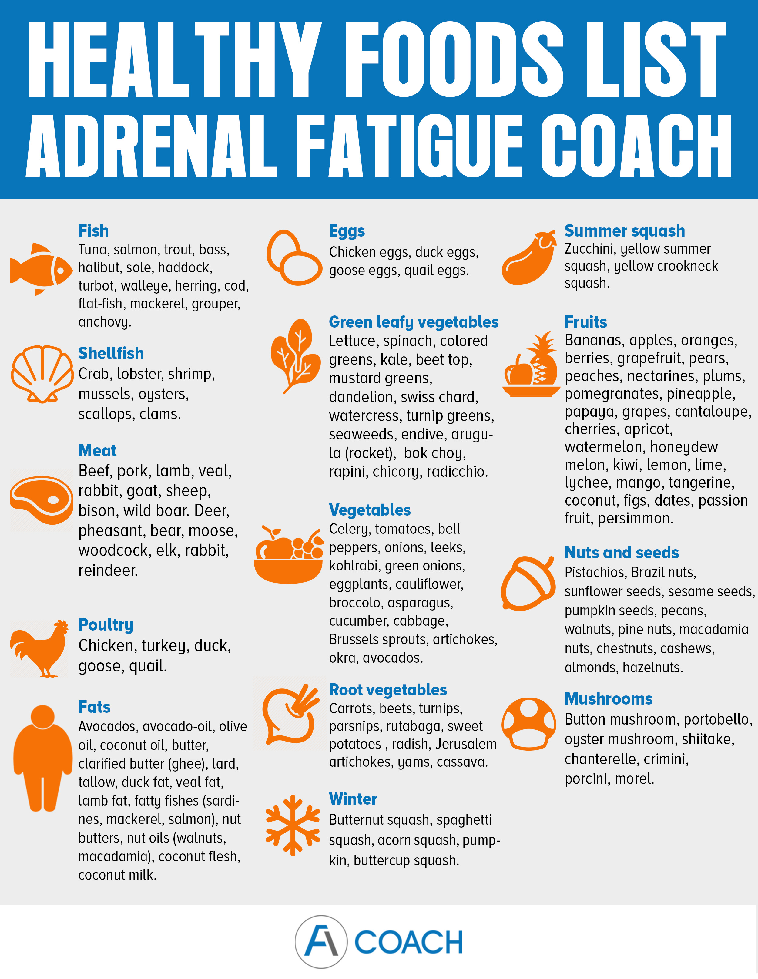 Best Foods For Adrenal Fatigue