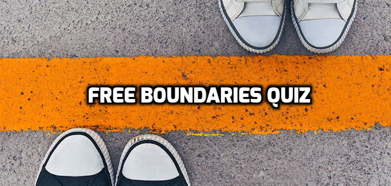 Boundaries Quiz